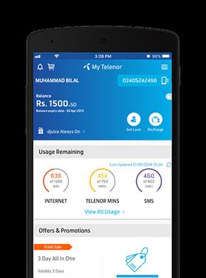 My Telenor App Telenor Pakistan