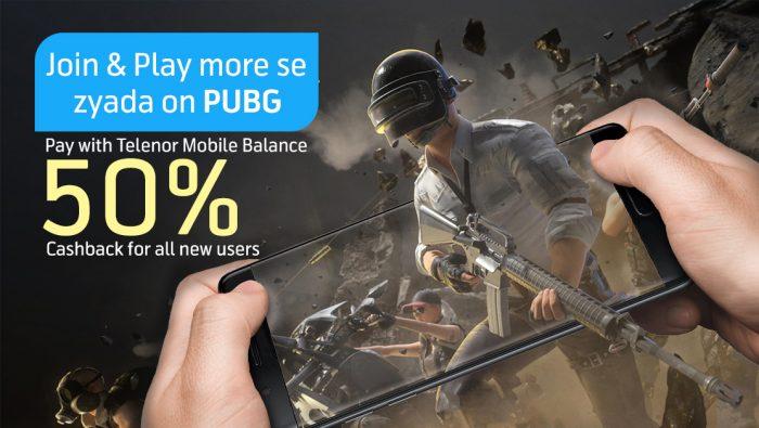 PUBG Telenor Discount